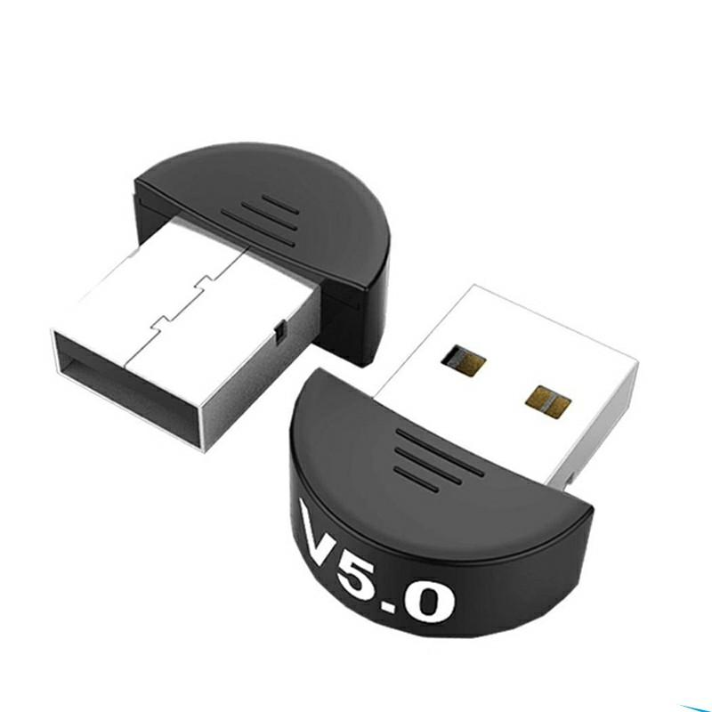USB Bluetooth 5.0 Adapter for PC Win10/81/8/7/XP/Vista - Half Round