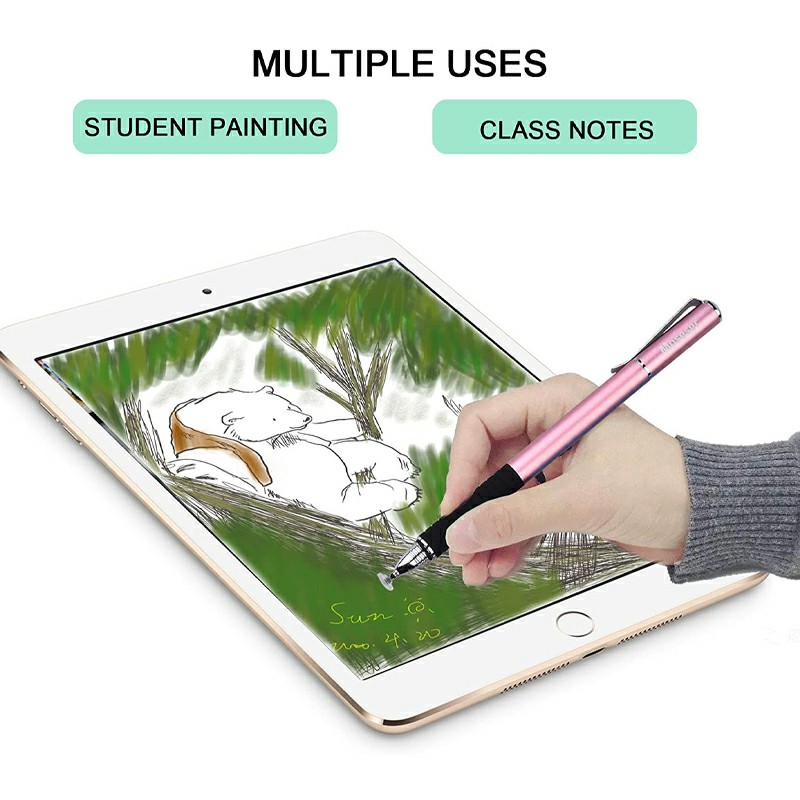Universal Capacitive Touch Stylus Pen for iPad iPhone Tablet - Rose Gold