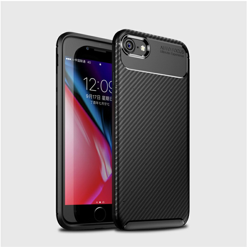 Rugged Armor PC Combination Case for iPhone 7/8/SE 2020 - Black