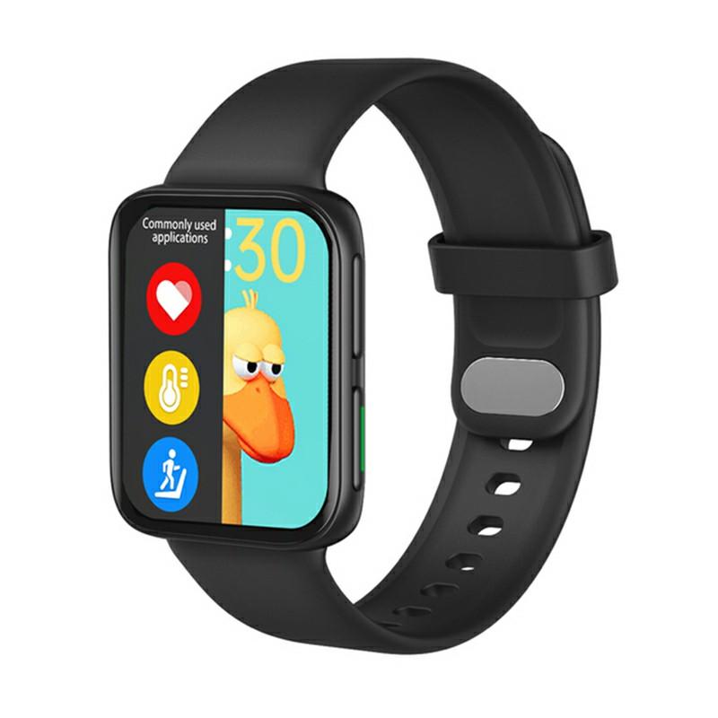 GT9 Smart WatchFitness Tracker IPS Calories Heart Rate Sleep Monitor Wrist Band - Black
