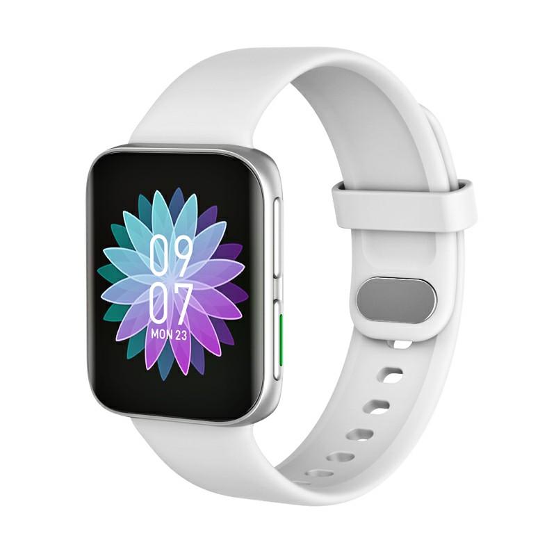 GT9 Smart WatchFitness Tracker IPS Calories Heart Rate Sleep Monitor Wrist Band - White