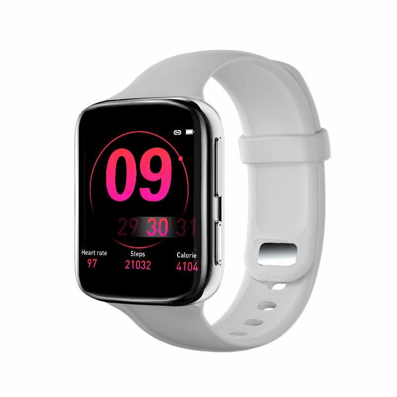 K80 Fitness Tracker Calories Heart Rate Health Check Sleep Monitor Wrist Band - White