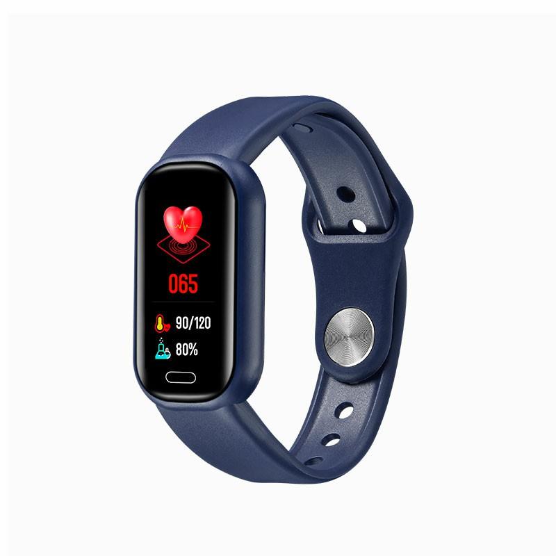 Y16 Bluetooth Call Smart Bracelet Fitness Tracker Smart Watch Wristbands - Blue