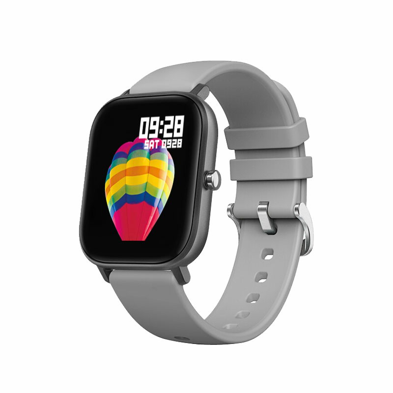 P9 Smart Watch Band Fitness Tracker IPS Calories Heart Rate Sleep Monitor Wrist Band - Grey