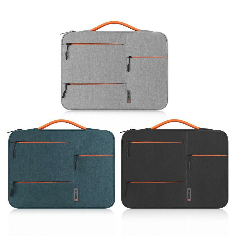 13 inch 360 Degree Protective Laptop Polyester Bag Compatible with 13 Inch Laptop - Navy