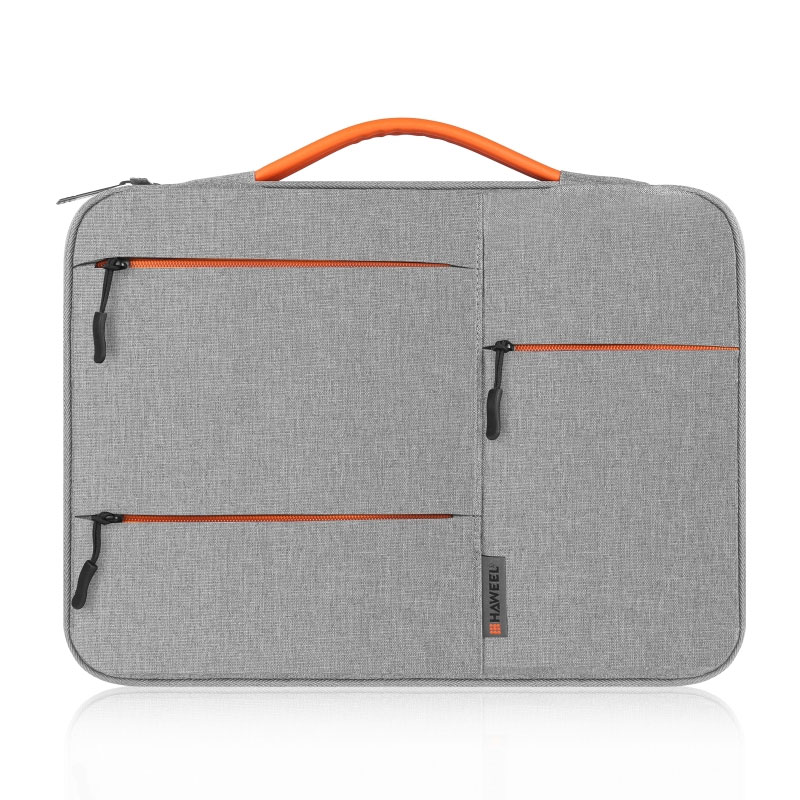 14 inch 360 Degree Protective Laptop Polyester Bag Compatible with 14 Inch Laptop - Grey