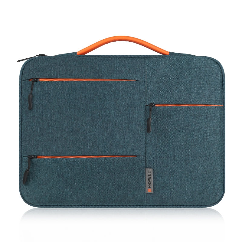 15 inch 360 Degree Protective Laptop Polyester Bag Compatible with 15 Inch Laptop - Navy