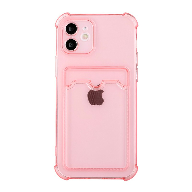 TPU Soft Skin Silicone Protective Case for iPhone 12 Mini - Pink