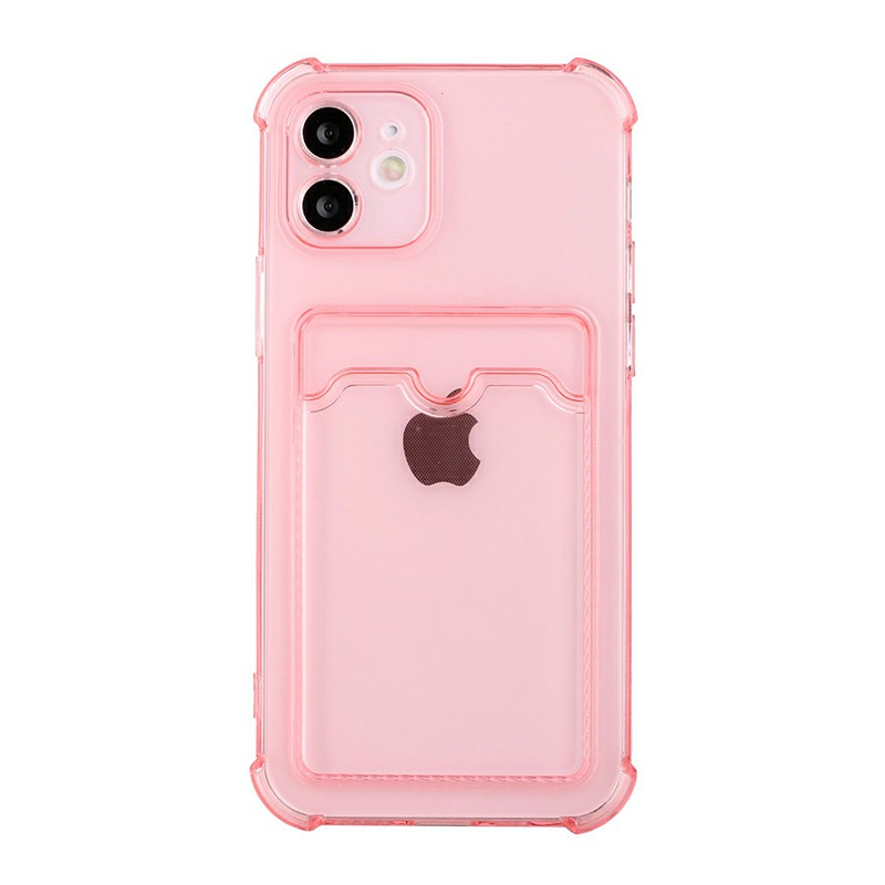 TPU Soft Skin Silicone Protective Case for iPhone 11 - Pink