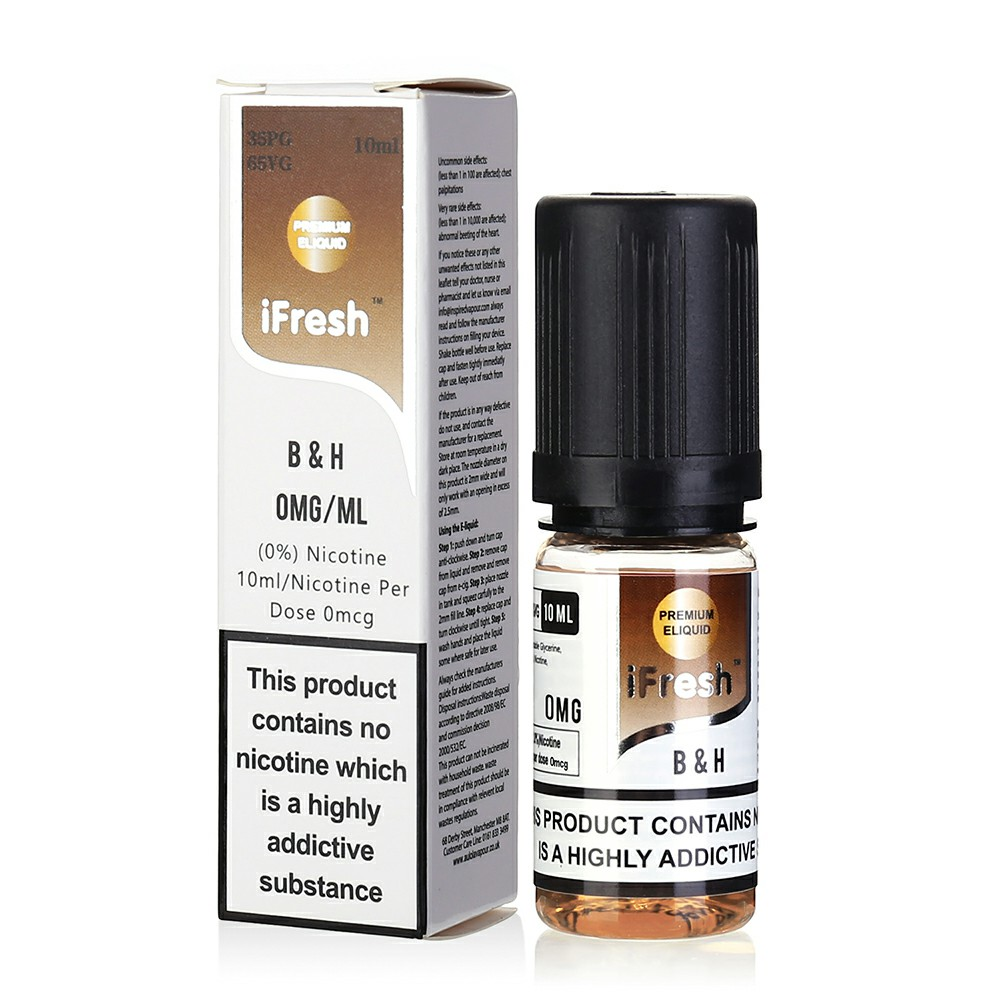 NEW iFresh Premium E-liquid E-juice 10ml - BH